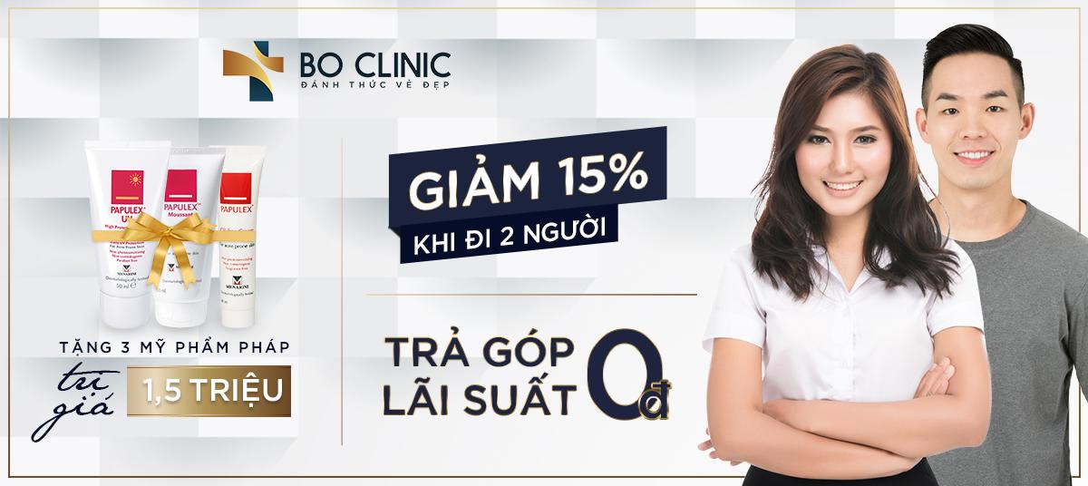 Dịch vụ trị mụn tại Bo Clinic