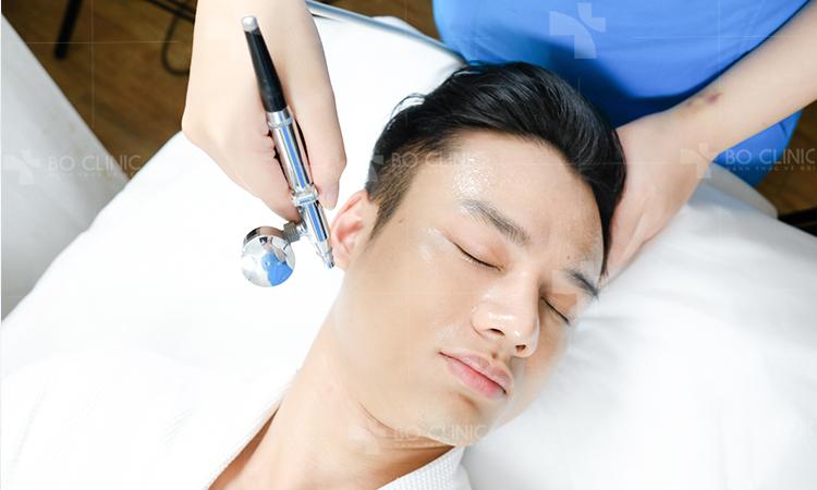 Liệu pháp Collagen kết hợp Oxy Jet phục hồi da mau chóng