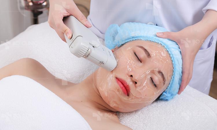 Công nghệ HIFU nâng cơ trẻ háo da tại Bo Clinic làm căng đầy tế bào