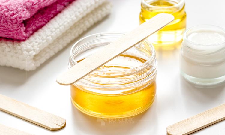 Waxing sử dụng loại gel đặc biệt an toàn cho da