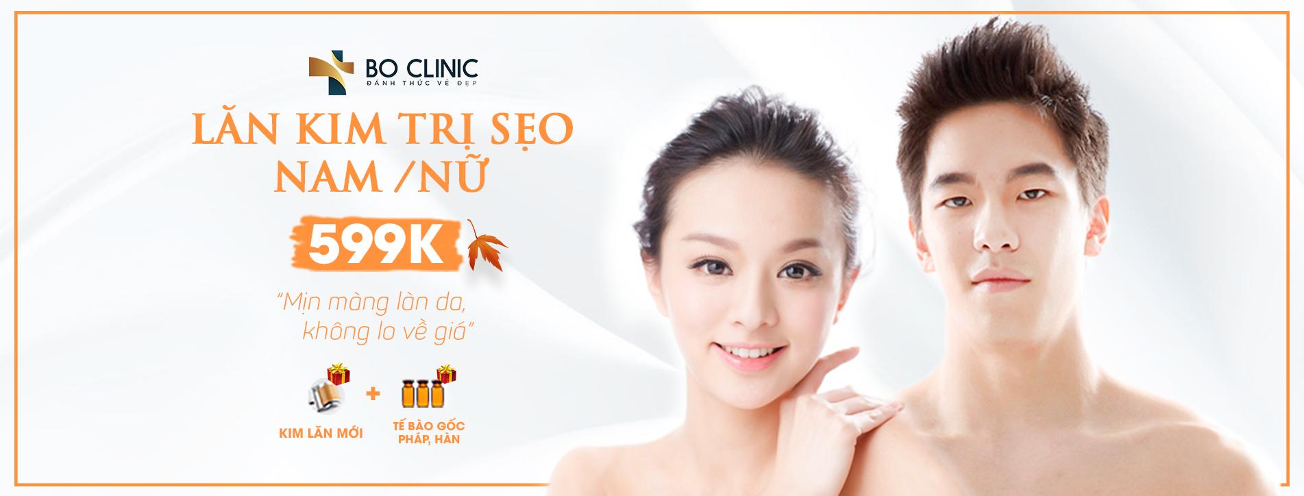 Promo Lăn Kim Trị Sẹo 599K (Banner)