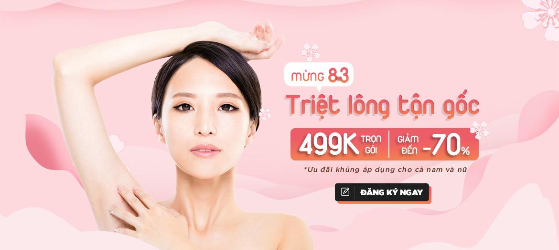 Promo Triệt Lông Nách 499K ThNachs3 (Banner)