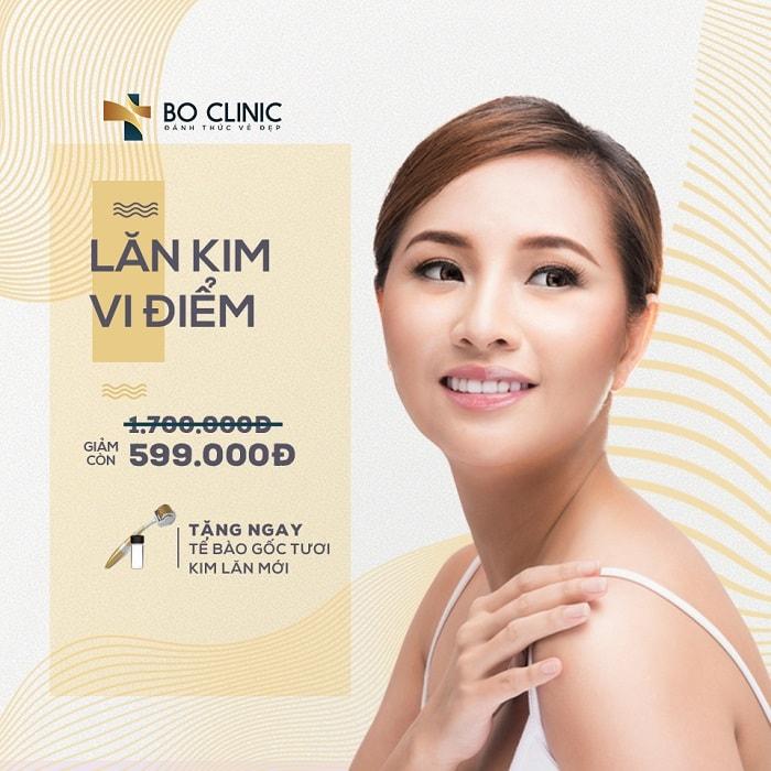 LĂN KIM TRỊ SẸO 599K TẠI BO CLINIC