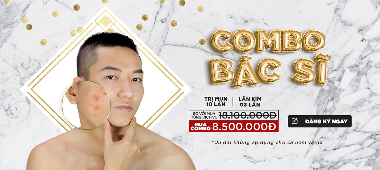 Combo Lăn Kim Trị Mụn Tiết Kiệm 70% (banner)