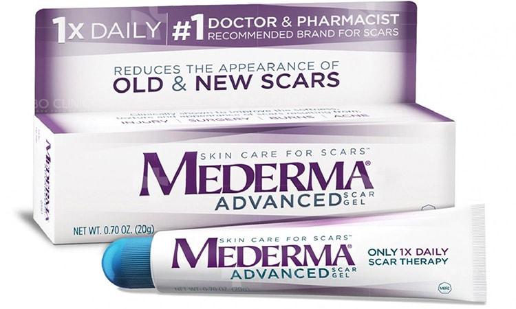 Tuýp thuốc trị sẹo Mederma 20g đủ để điều trị một vết sẹo dài đến 7,5cm