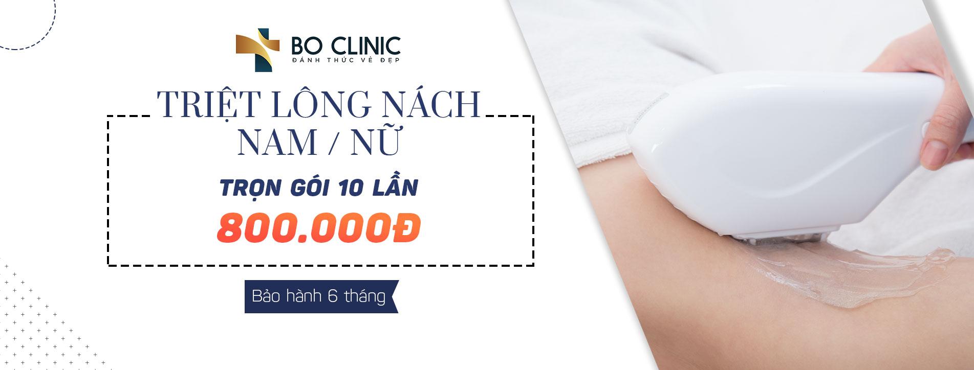 Hot Deal Triệt Lông Nách