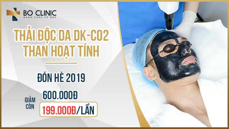 Gọi 0934 099 011 đăng ký thải độc da than hoạt tính DK CO2 giảm sâu còn 199k chăm sóc da từ bên trong, lấy lại sự tin tin, bản lĩnh