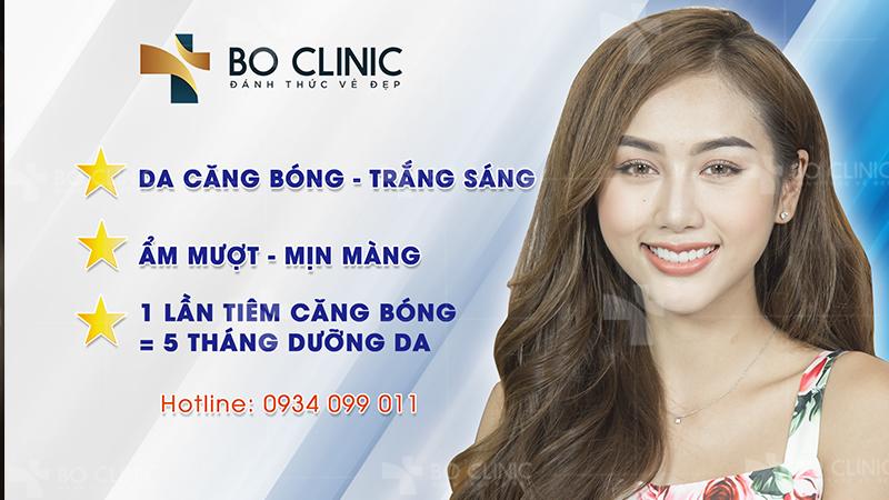 Hiệu quả tiêm căng bóng da mặt tại Bo Clinic