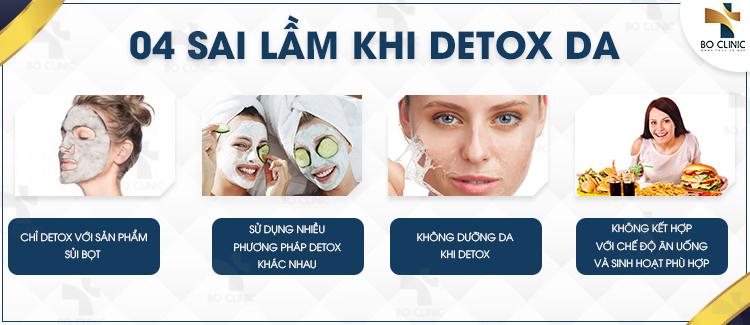Phải tìm hiểu kỹ quy trình detox da tại nhà để tránh mắc những sai lầm