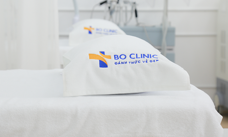 Bo Clinic với không gian sang trọng, ứng dụng các liệu pháp chăm sóc da mặt hiện đại