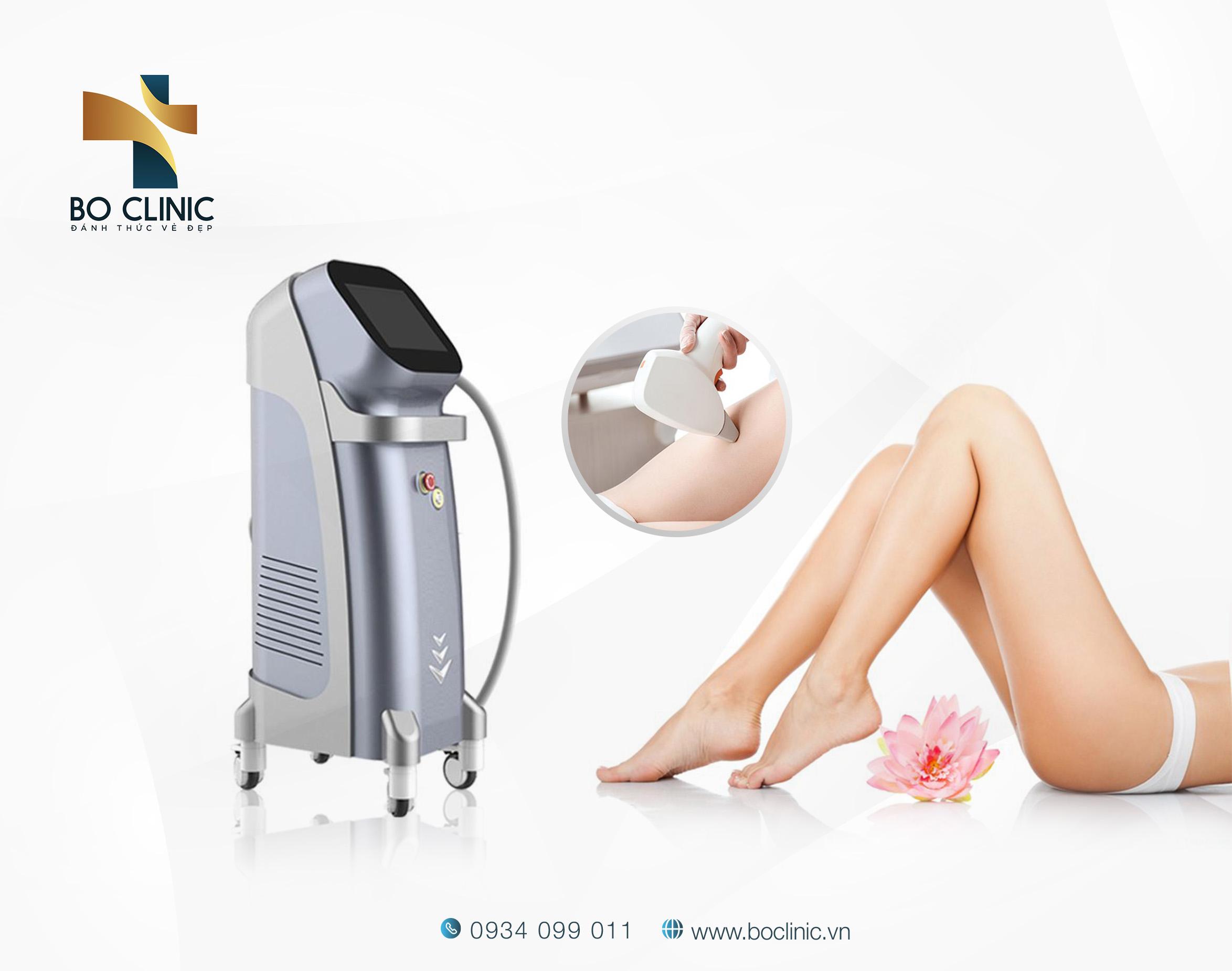 Bo Clinic triệt lông hiệu quả nhanh bằng công nghệ ánh sáng được các chuyên gia Hoa Kỳ thừa nhận, không gây nên bất kỳ tổn thương nào cho da kể cả đối với làn da vô cùng nhạy cảm.